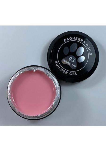 Builder gel make-up 03, гель для моделирования ногтей, 14 мл